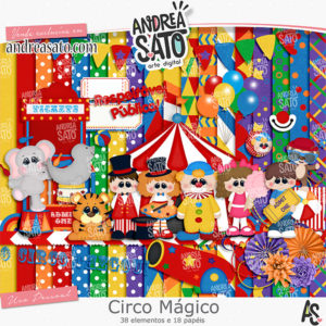 Kit Circo Mágico