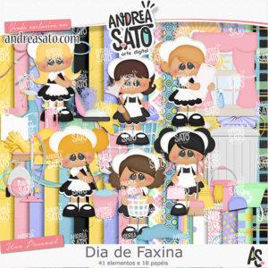 Kit Dia de Faxina