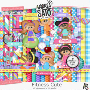Kit Fitness Cute