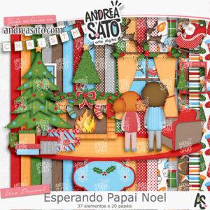 Kit Esperando Papai Noel